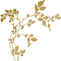 Couture Creations Anna Griffin Hotfoil Stamp: Thorny Branches