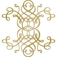 Couture Creations Anna Griffin Hotfoil Stamp: Curling Motif