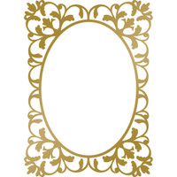 Couture Creations Anna Griffin Hotfoil Stamp: Classic Frame