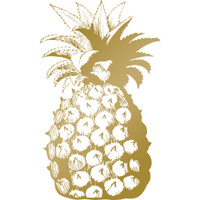 Couture Creations Anna Griffin Hotfoil Stamp: Pineapple