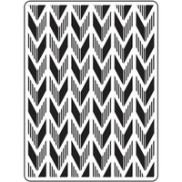 Darice A2 Embossing Folder - Arrow