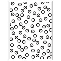 Darice A2 Embossing Folder - Sequin