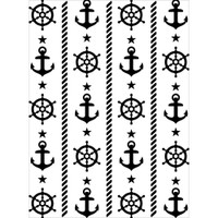 Darice A2 Embossing Folder - Nautical