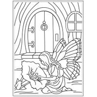 Darice A2 Embossing Folder - Fairy Door