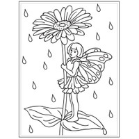 Darice A2 Embossing Folder - Fairy Garden