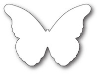 Memory Box Craft Die - Chantilly Butterfly Background