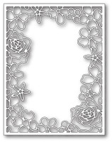 Memory Box Craft Die - Floral Fantasy Frame