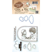 Dreamerland Crafts Clear Stamp & Die Set 4X4 - Can't Say Enough