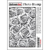 Darkroom Door Cling Stamp, Photo Stamp: Roses
