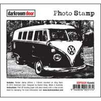 Darkroom Door Cling Stamp, Photo Stamp: Kombi