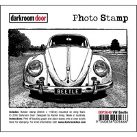 Darkroom Door Cling Stamp, Photo Stamp: VW Beetle