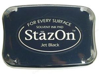 StazOn Ink Pads - Jet Black