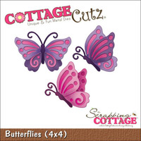 CottageCutz Die - Butterflies