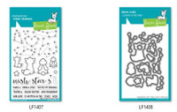 Lawn Fawn Clear Stamps and Dies Set - Upon A Star