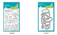Lawn Fawn Clear Stamps and Dies Set - Plane & Simple