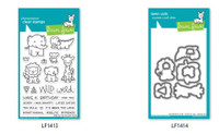 Lawn Fawn Clear Stamps and Dies Set - Wild For You