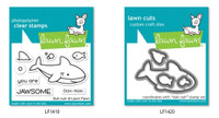 Lawn Fawn Clear Stamps and Dies Set - Duh-nuh