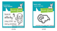 Lawn Fawn Clear Stamps and Dies Bundle - Winter Otter