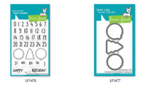 Lawn Fawn Clear Stamps and Dies Bundle - Celebration Countdown