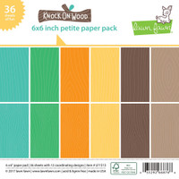 Lawn Fawn Petite Paper Pack - Knock on Wood
