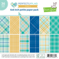 Lawn Fawn Petite Paper Pack - Perfectly Plaid Chill