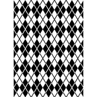 Darice 5 x 7 Embossing Folder - Argyle Background