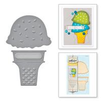 Spellbinders Die D-Lites By  - Ice Cream Yummy
