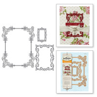 Spellbinders Card Creator By Stacy Caron - A2 Swirls Frame