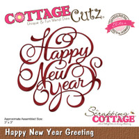 CottageCutz Elites Dies - New Year Greeting