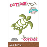 CottageCutz Petites Die - Sea Turtle