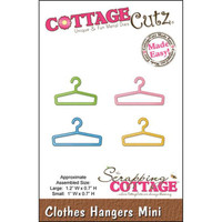 CottageCutz Mini Die - Clothes Hangers Made Easy