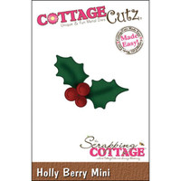 CottageCutz Mini Die - Holly Berry Made Easy