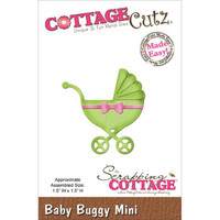 CottageCutz Mini Die - Baby Buggy