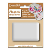 Stamperia Plaquette - Large Rectangle 1/pk