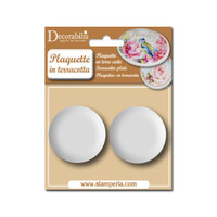 Stamperia Plaquette - Medium Circle 2/pk