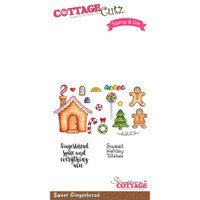 Cottagecutz Stamp & Die Set - Sweet Gingerbread
