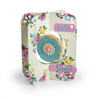 Sizzix Thinlits Die Set 12PK by Lori Whitlock - Card, Flower