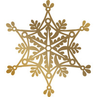 Couture Creations Anna Griffin Hotfoil Plate - Snowflake