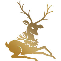 Couture Creations Anna Griffin Hotfoil Plate - Reindeer