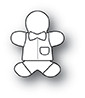Memory Box PoppyStamps Dies - Little Gingerbread Boy