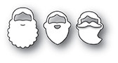 Memory Box PoppyStamps Dies - Holiday Beards