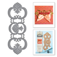 Spellbinders Shapeabilities Fantasia Strip Etched Die from the Rouge Royale Deux Collection by Stacey Caron