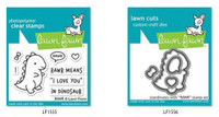 Lawn Fawn Clear Stamps and Dies Bundle - Rawr