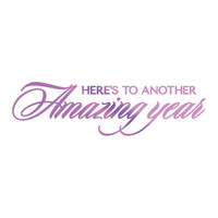 Couture Creations GoPress Foil Hotfoil Stamps, Everyday Sentiments - Amazing Year