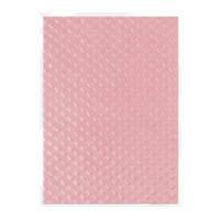 Tonic Studios Craft Perfect Hand Crafted Embossed Cotton Paper A4 - Blush Heartbeat - 5 Pk
