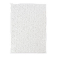 Tonic Studios Craft Perfect Hand Crafted Embossed Cotton Paper A4 - English Lace - 5 Pk