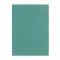 Tonic Studios Craft Perfect Hand Crafted Embossed Cotton Paper A4 - Mermaids Tail - 5 Pk