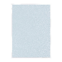 Tonic Studios Craft Perfect Hand Crafted Embossed Cotton Paper A4 - Hail Storm - 5 Pk