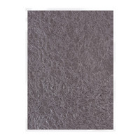 Tonic Studios Craft Perfect Hand Crafted Embossed Cotton Paper A4 - Crushed Metal - 5 Pk