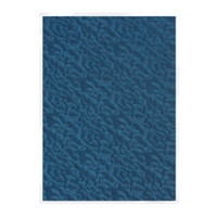 Tonic Studios Craft Perfect Hand Crafted Embossed Cotton Paper A4 - Deep Sea Dive - 5 Pk